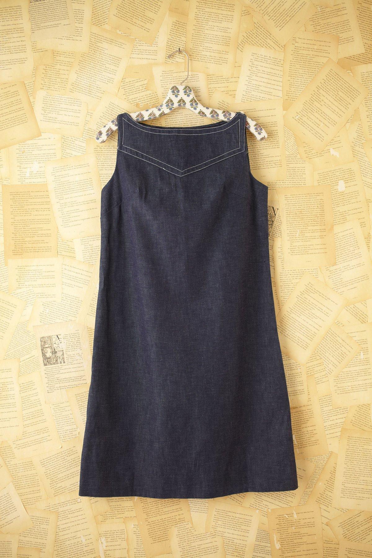 Vintage Mod Denim Dress