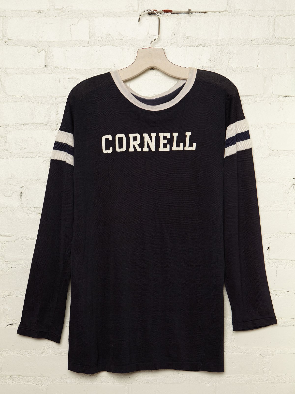 Vintage Cornell Long Sleeve Jersey Tee