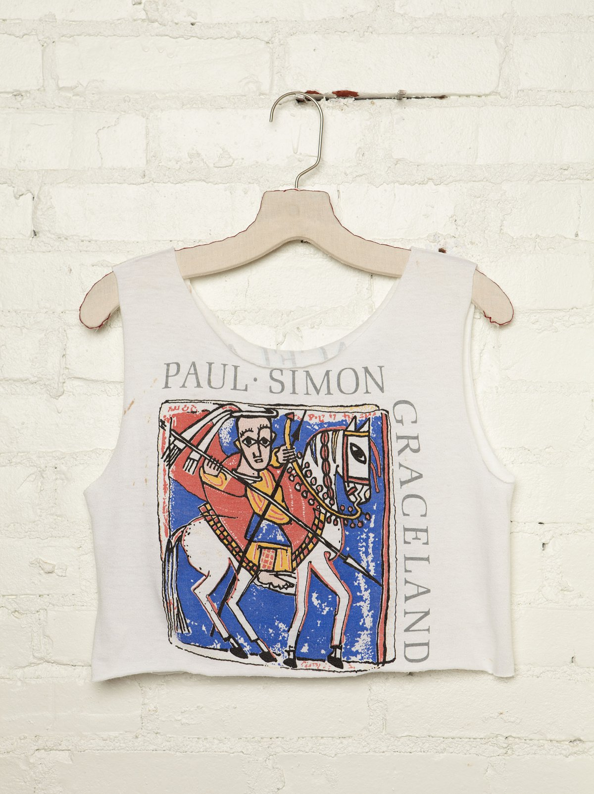 Vintage Paul Simon 1987 Tour Tank