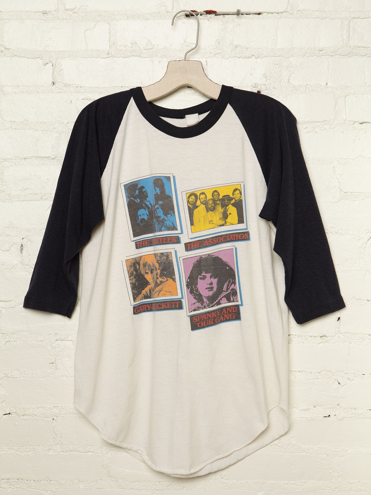 Vintage Assorted Band Graphic Tee