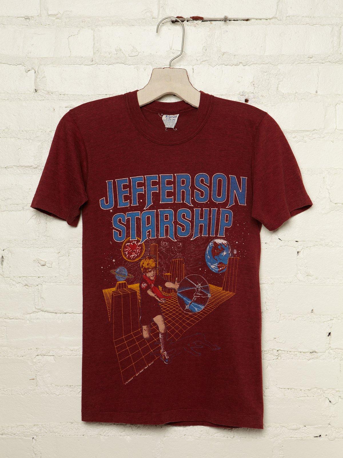 Vintage Jefferson Starship 1981 Graphic Tee