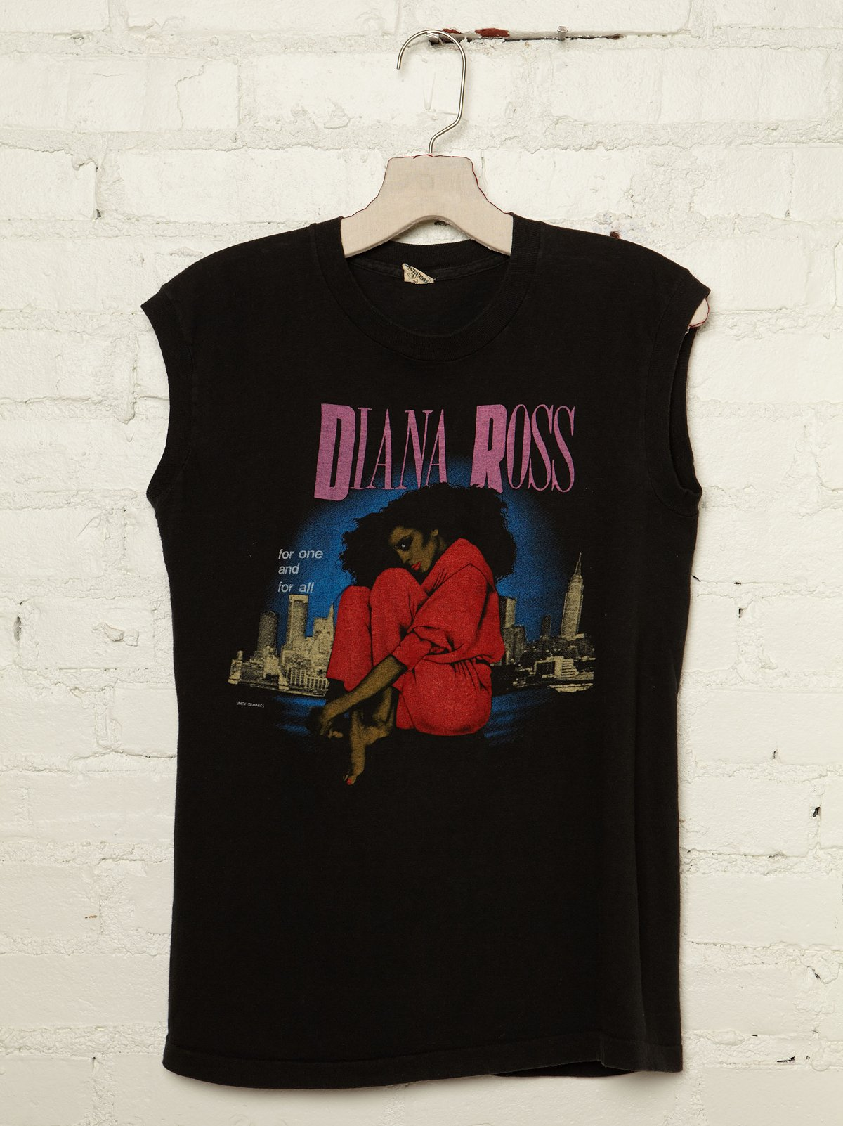 Vintage Diana Ross Graphic Tee
