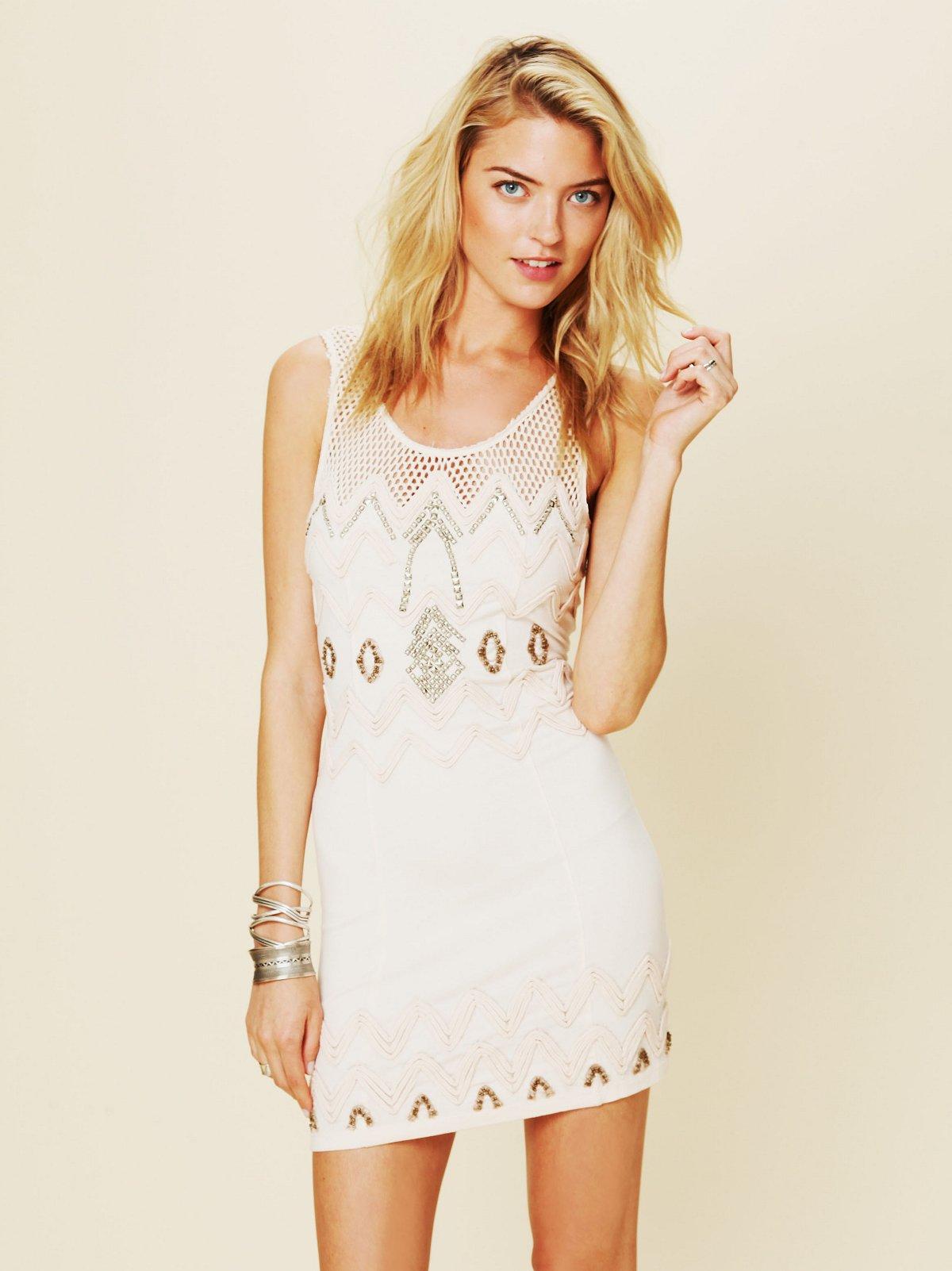 Zig To The Zag Mini Dress