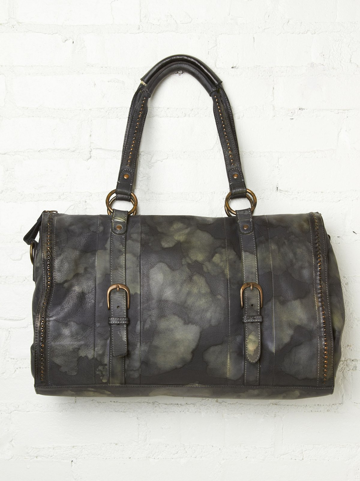 Brighton Distressed Satchel
