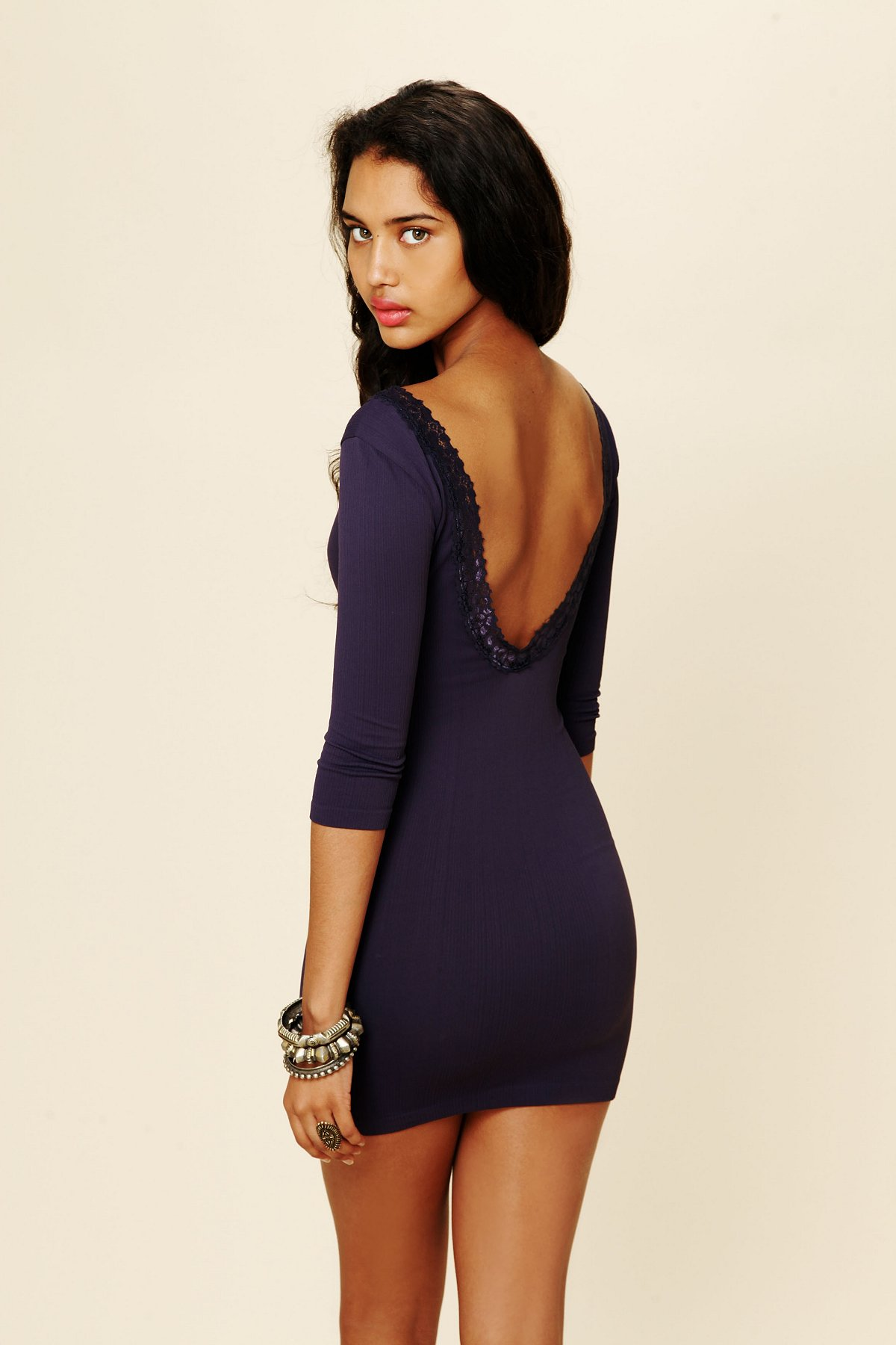 Low Back Lace Bodycon