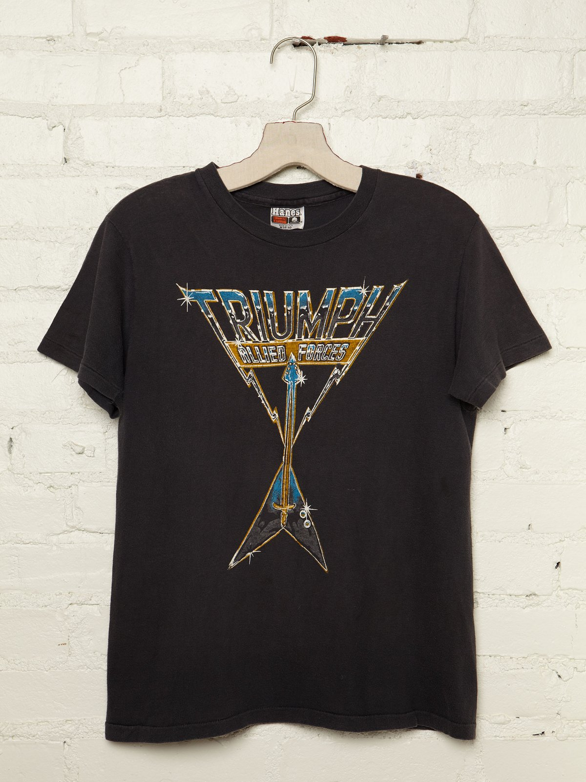Vintage Triumph Allied Forces Graphic Tee