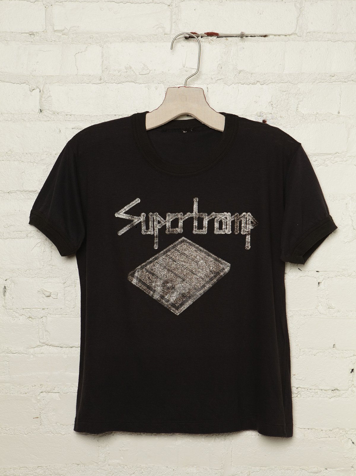 Vintage Supertramp Glitter Graphic Tee