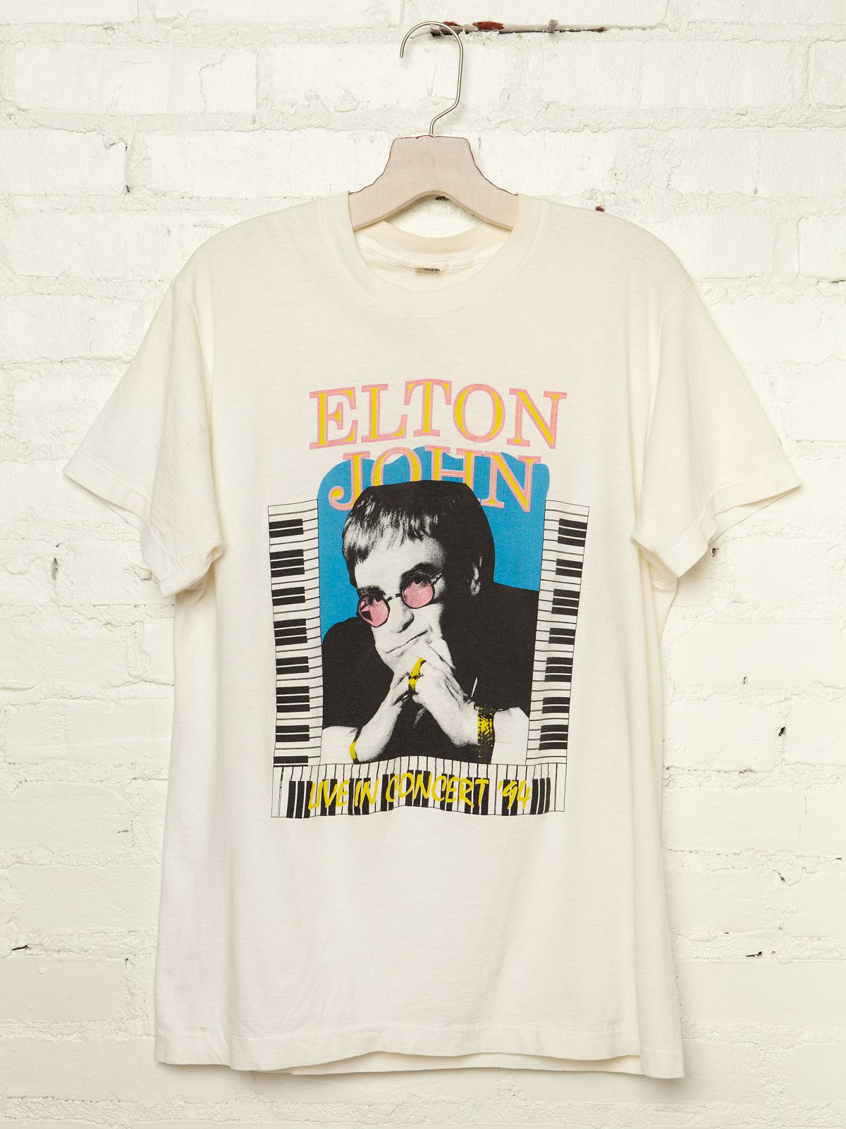 Vintage Elton John and Billy Joel 1994 Rock Tee