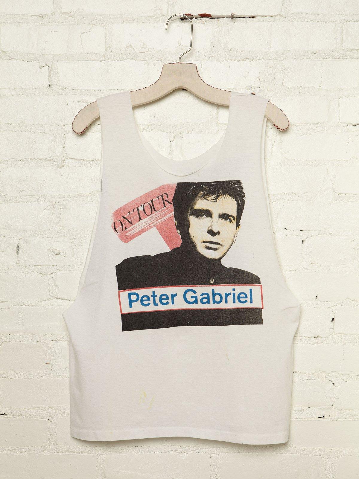 Vintage Peter Gabriel Tank Top