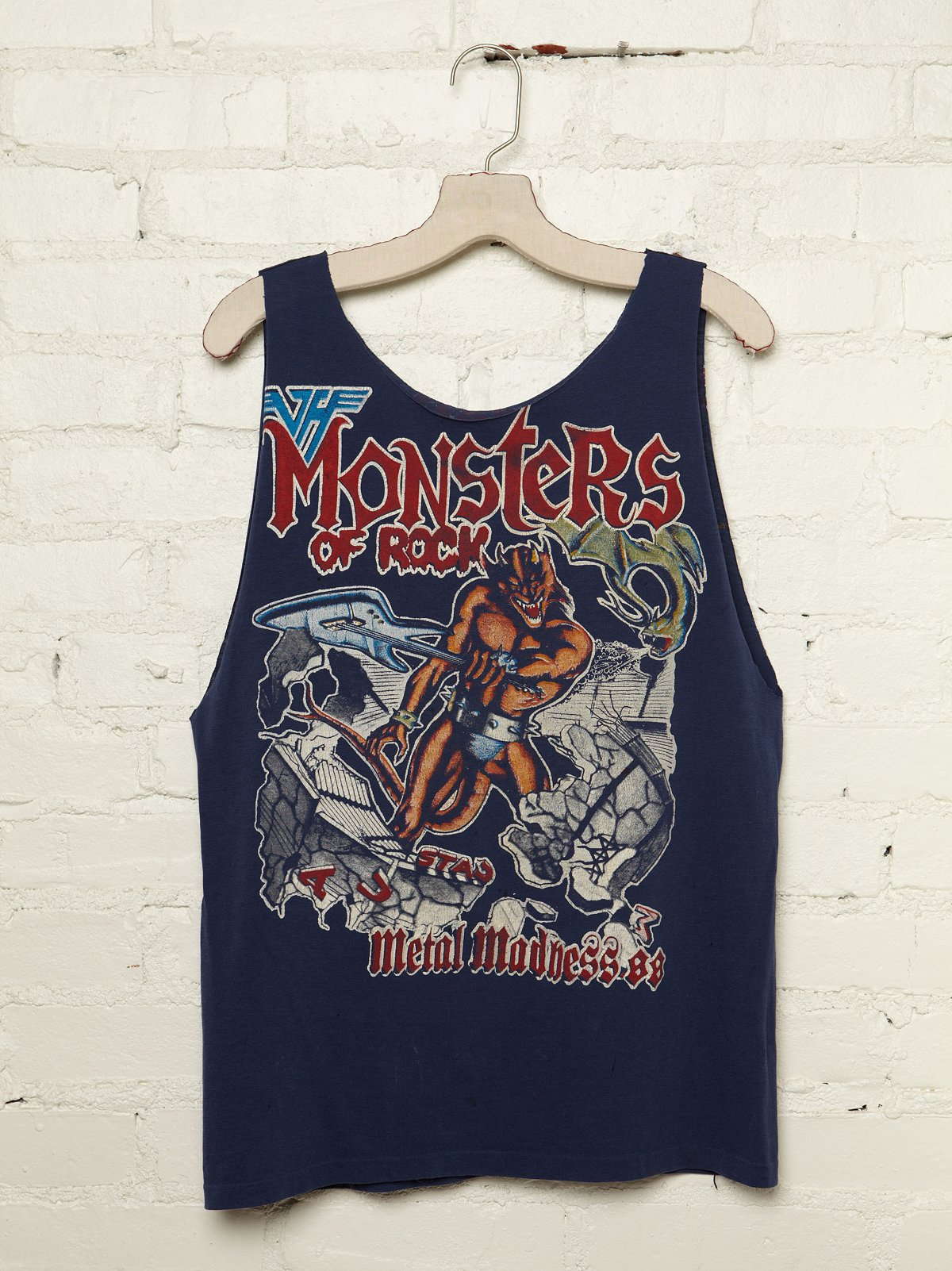 Vintage Monsters of Rock Tank
