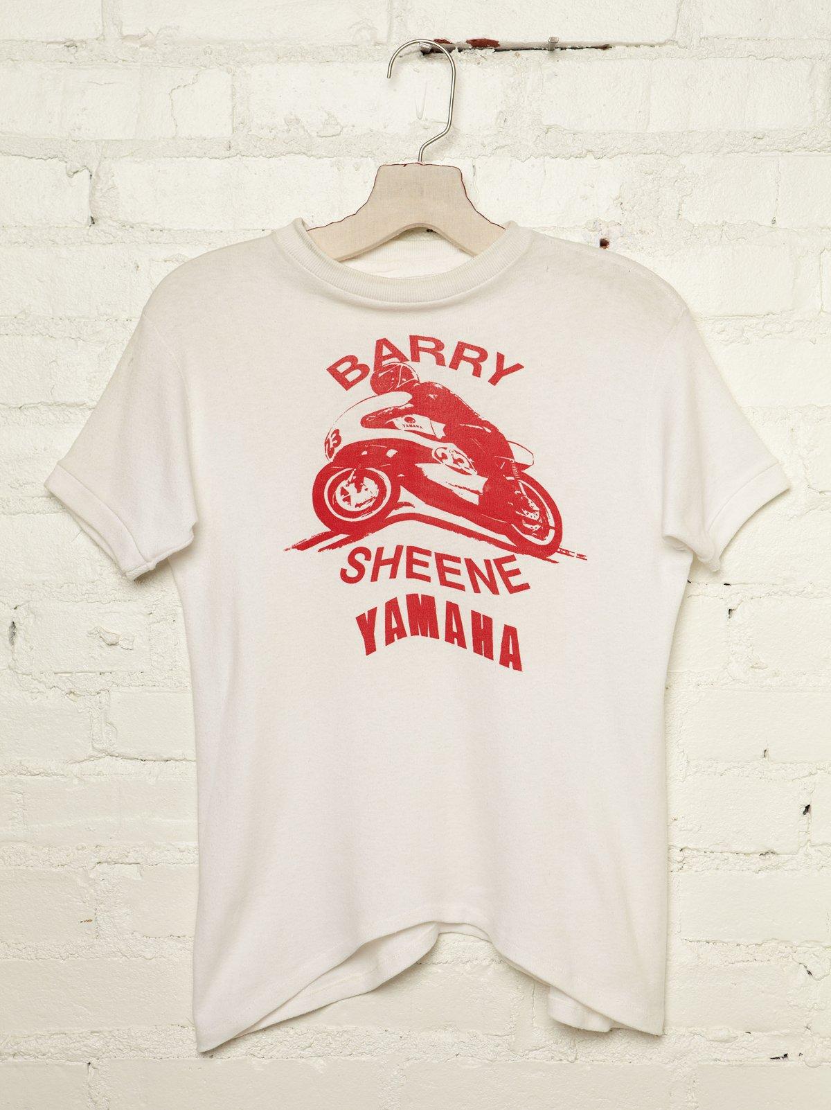Vintage Barry Sheene Yamaha Tee