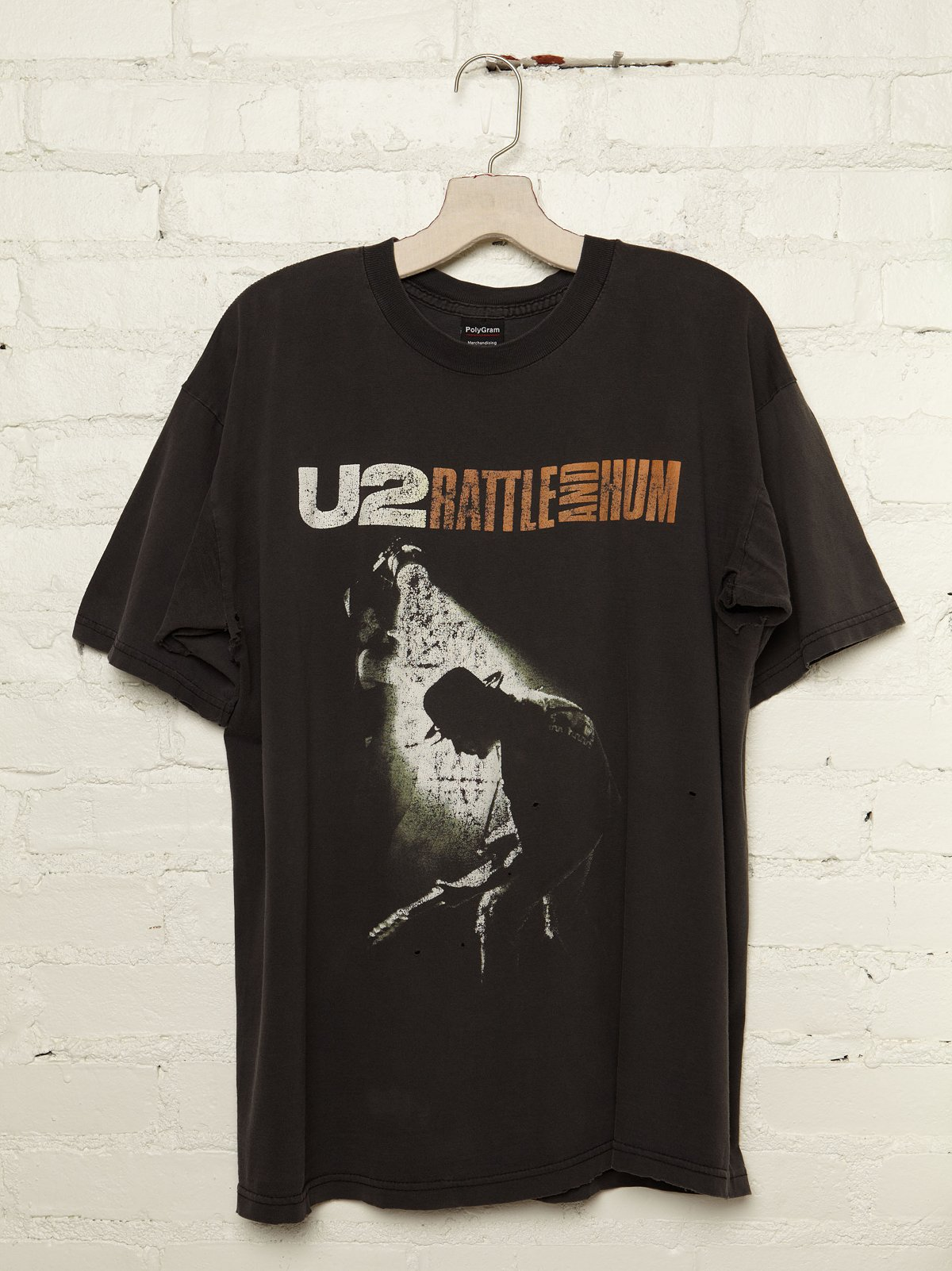 Vintage U2 Battle and Hum Rock Tee