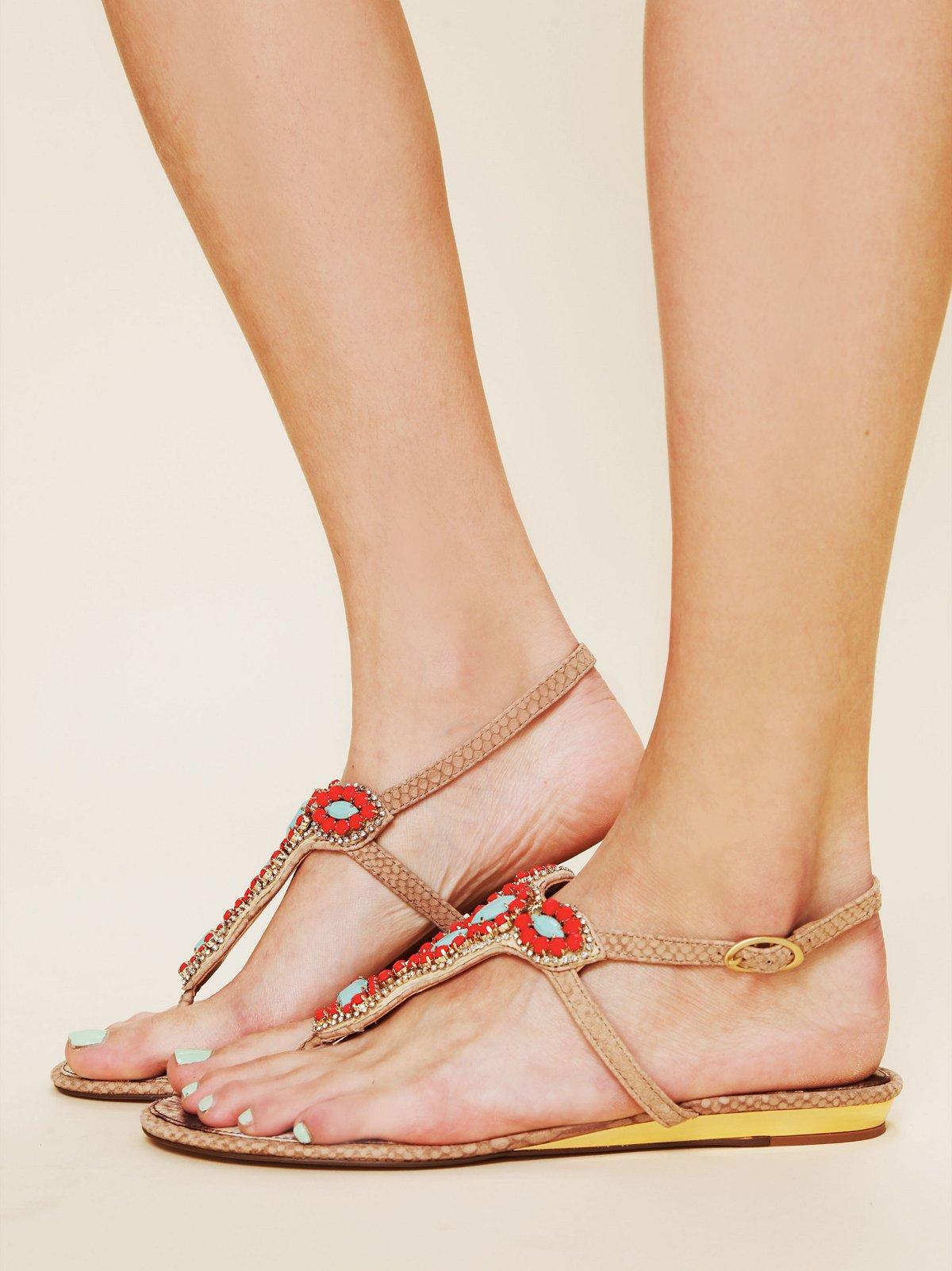 Jasmine Bead Sandal