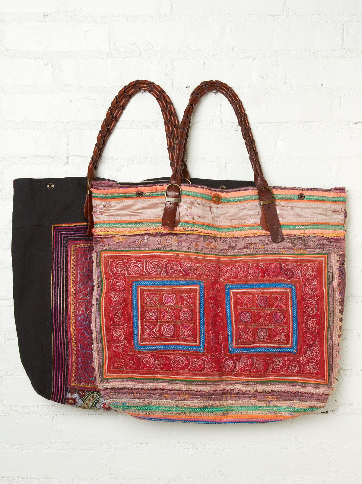 Tribal Brocade Tote