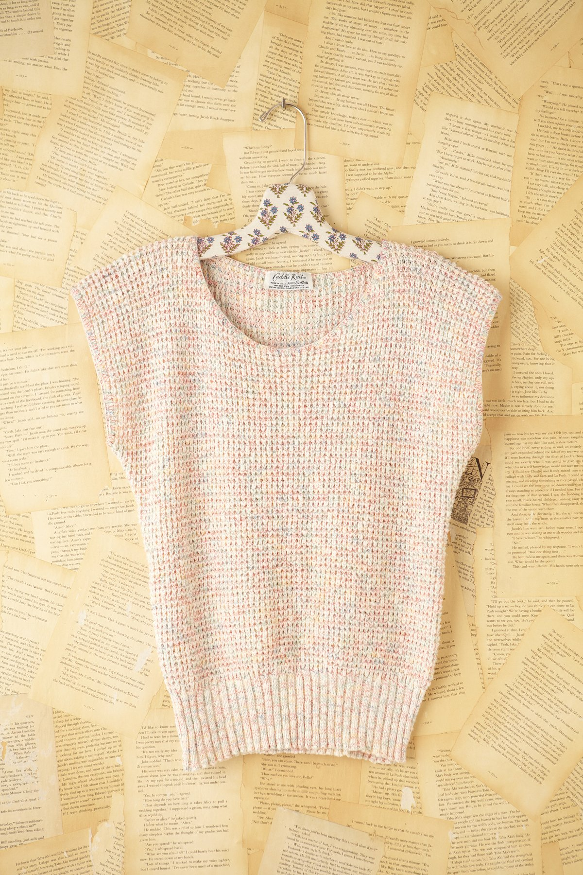 Vintage Knitted Sweater Tank