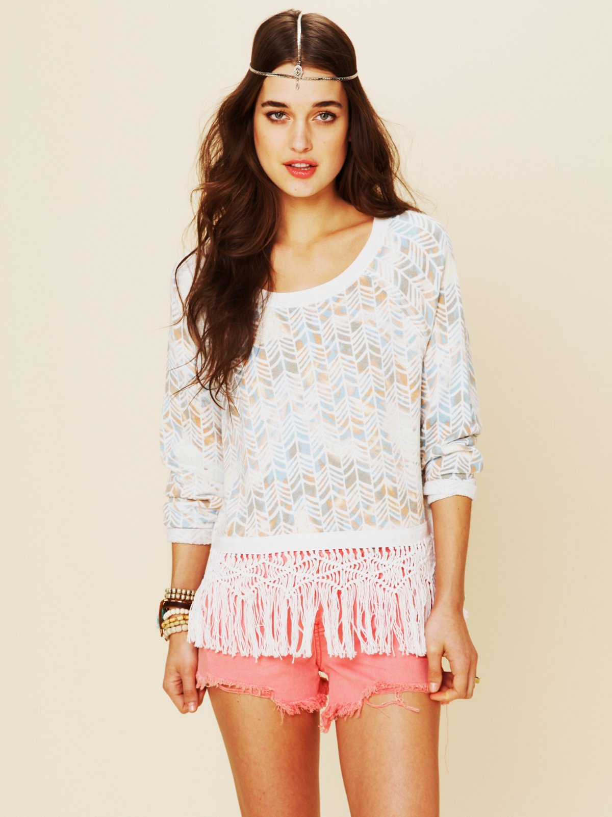 Follow The Fringe Pullover