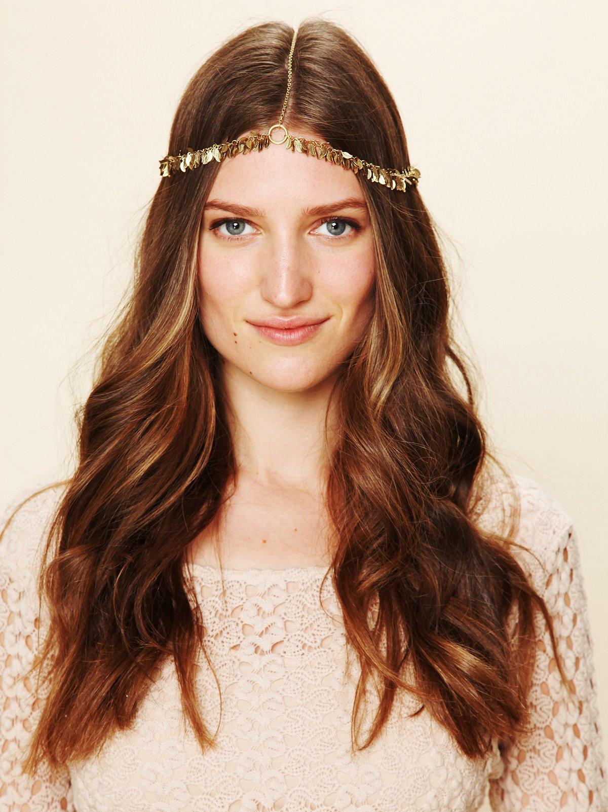 Golden Leaf Headpiece