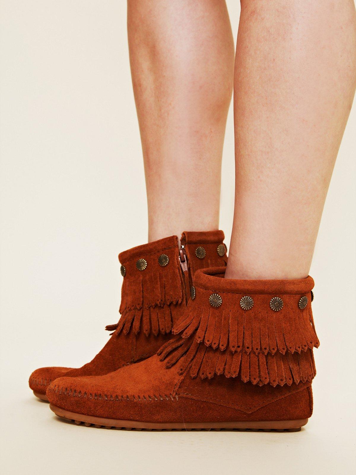 Terra Fringe Ankle Boot
