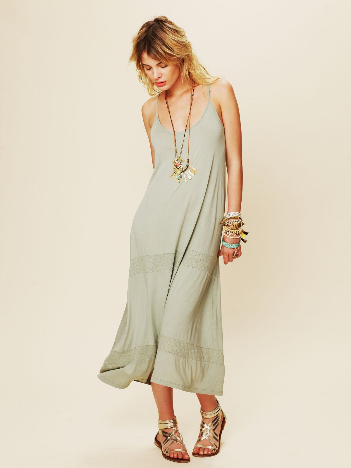 Pointelle Tank Dress