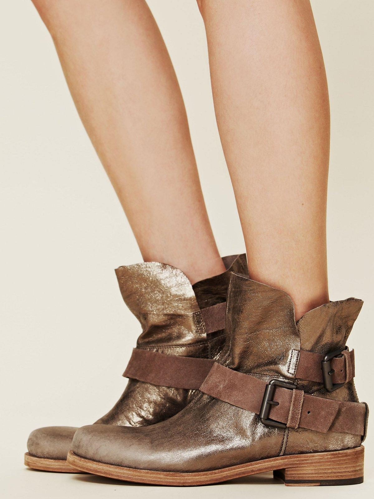 Skye Metallic Boot