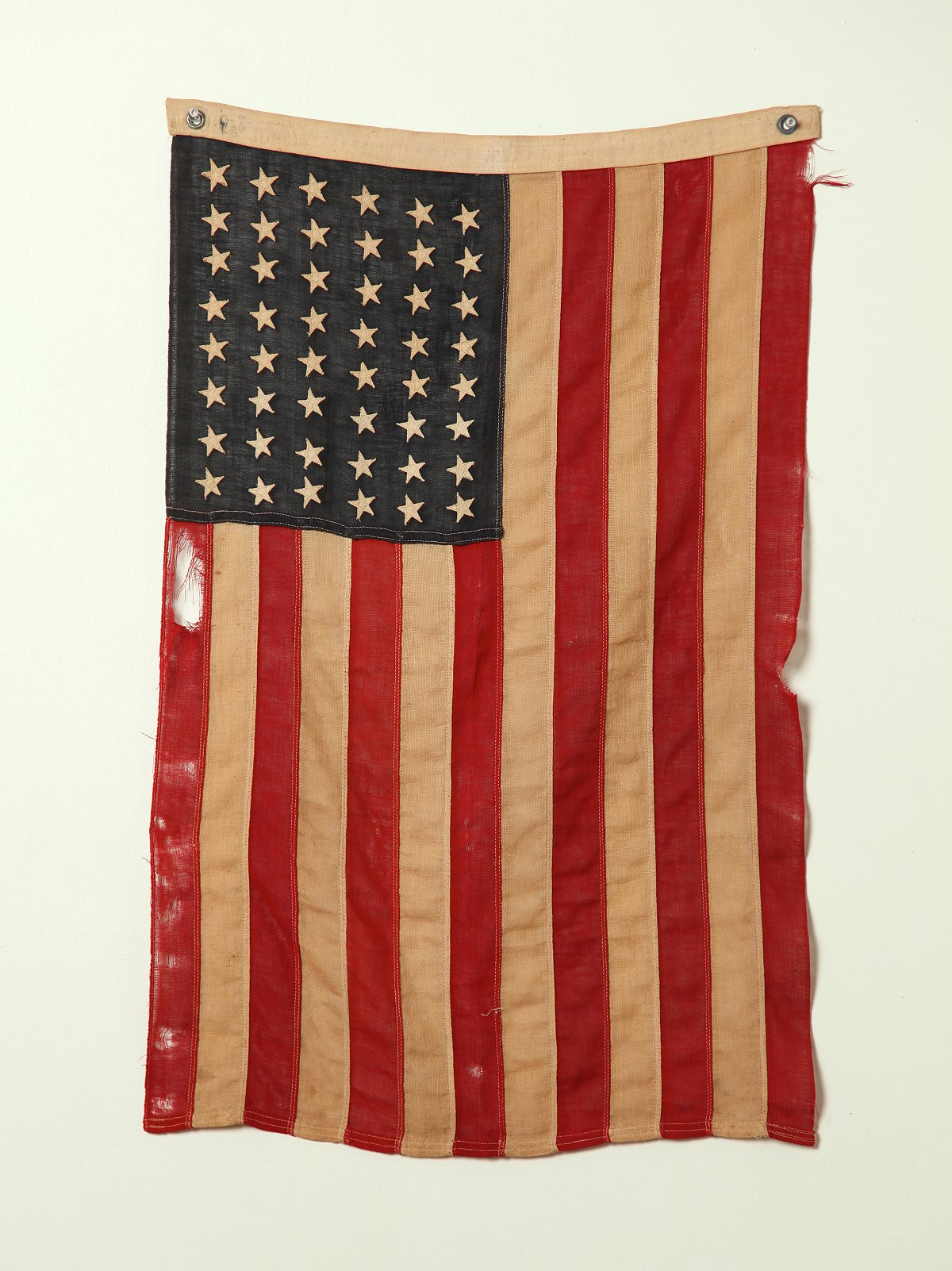 Vintage 48 Star Stitched American Flag