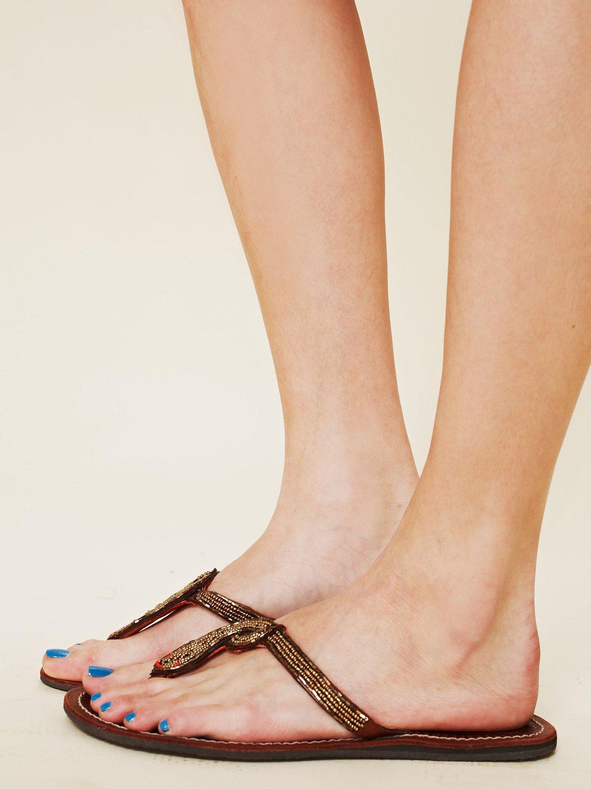 Nyoka Bead Sandal