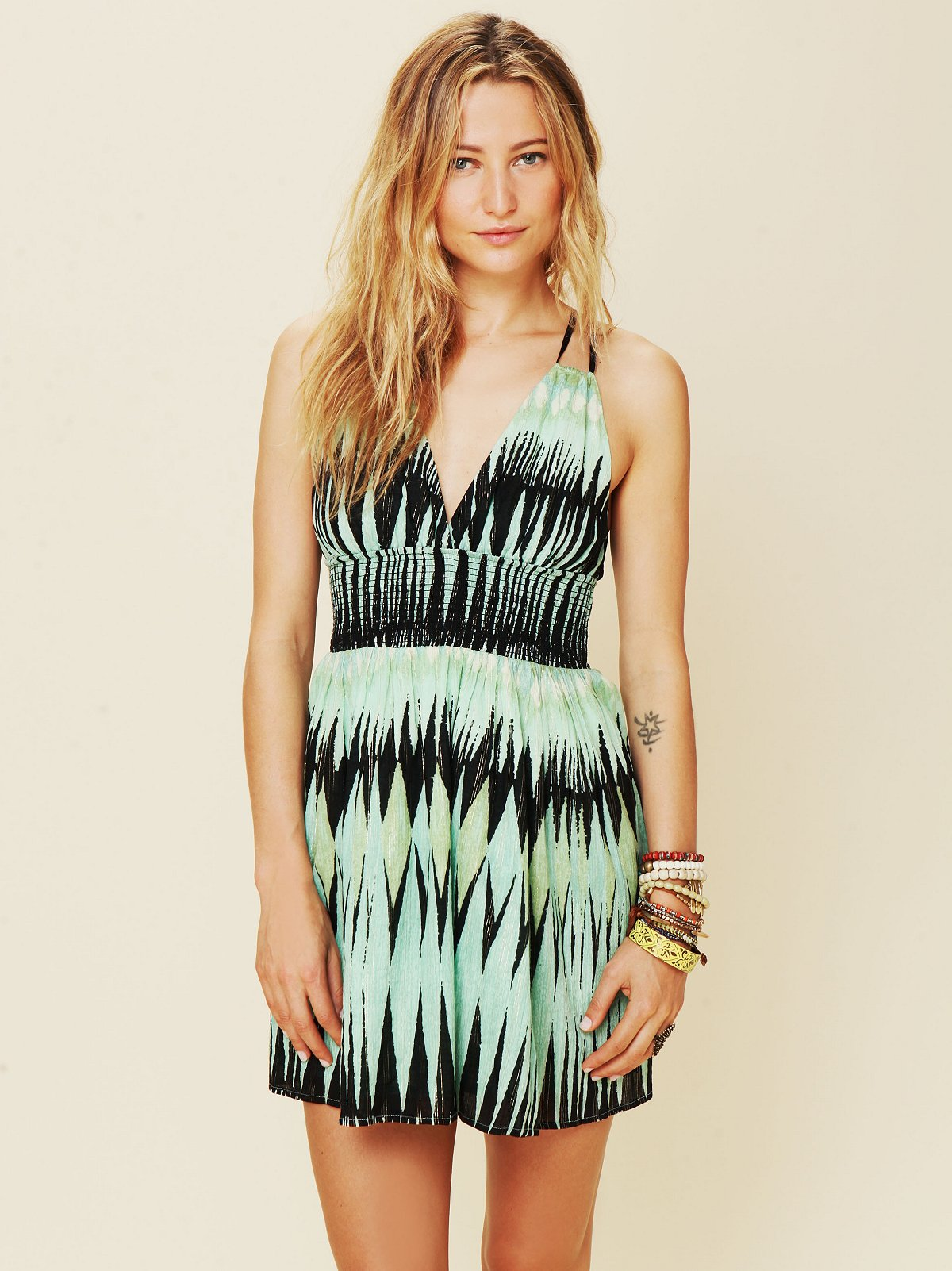Indian Summer Lurex Dress