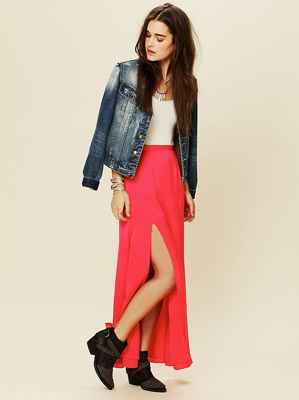 Love Stoned Maxi Skirt