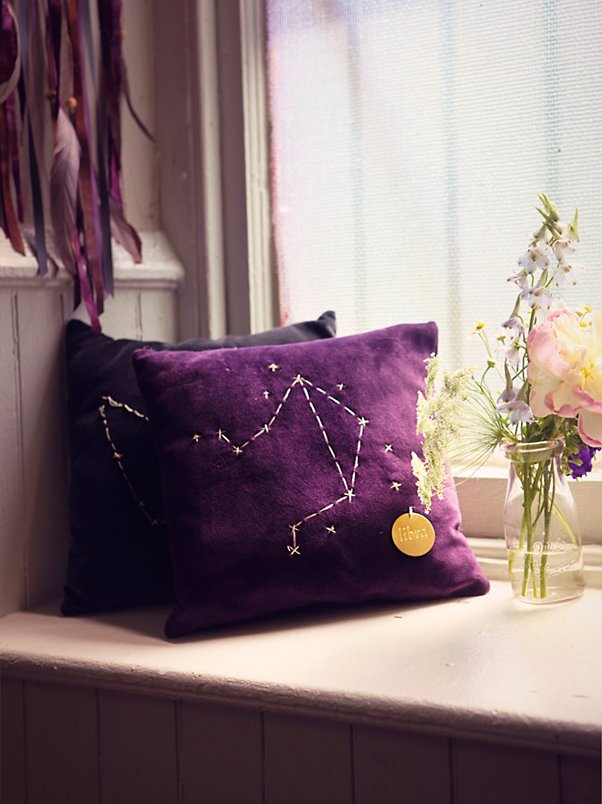 Star Sign Pillows