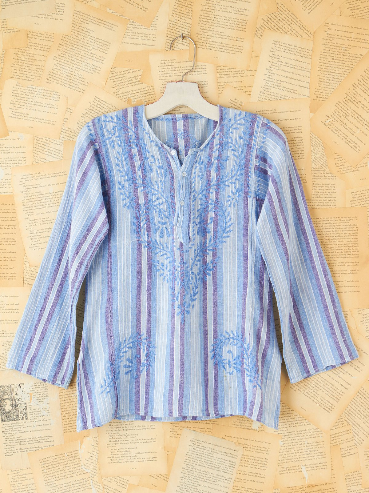 Vintage Cotton Embroidered Top
