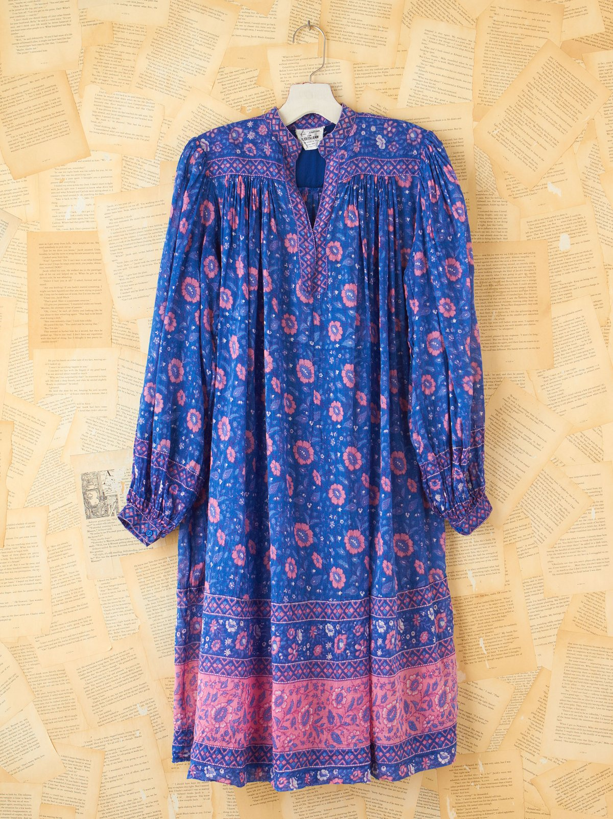 Vintage Floral Tunic