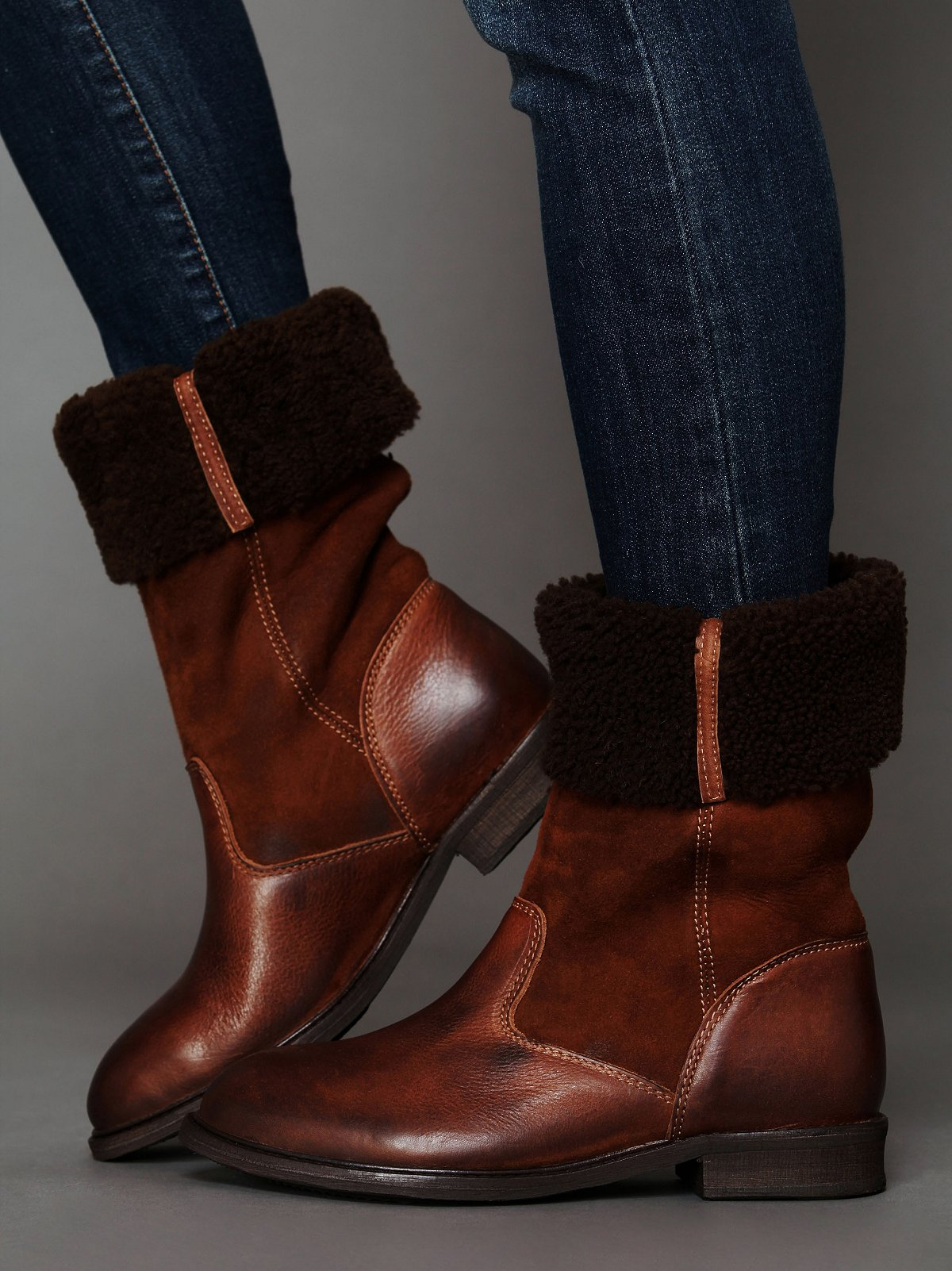 Vail Shearling Tall Boot