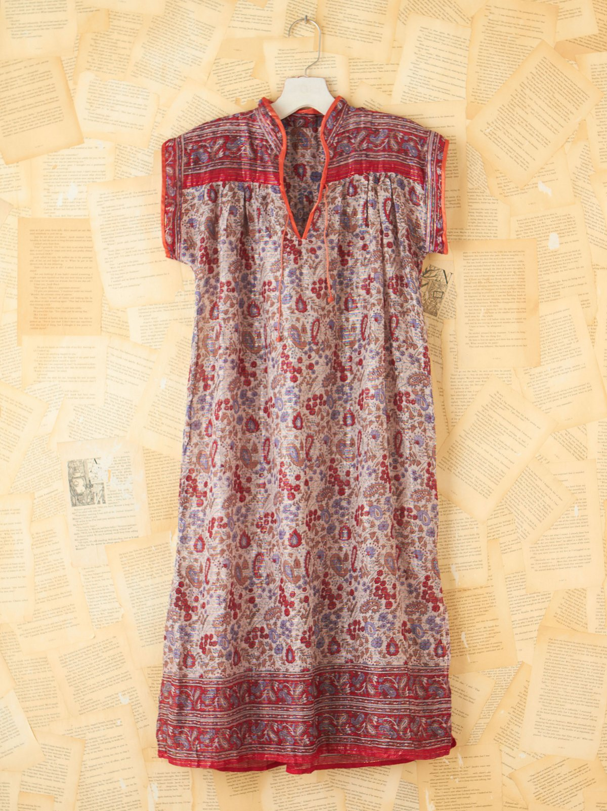 Vintage Paisley Tunic Dress