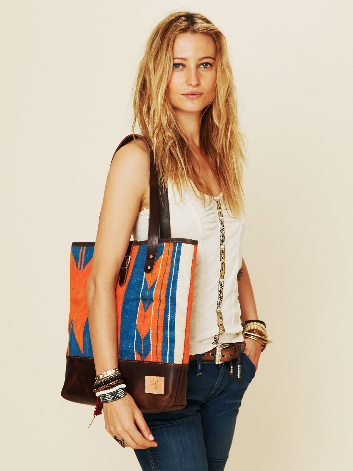 Dhurrie Tapestry Tote