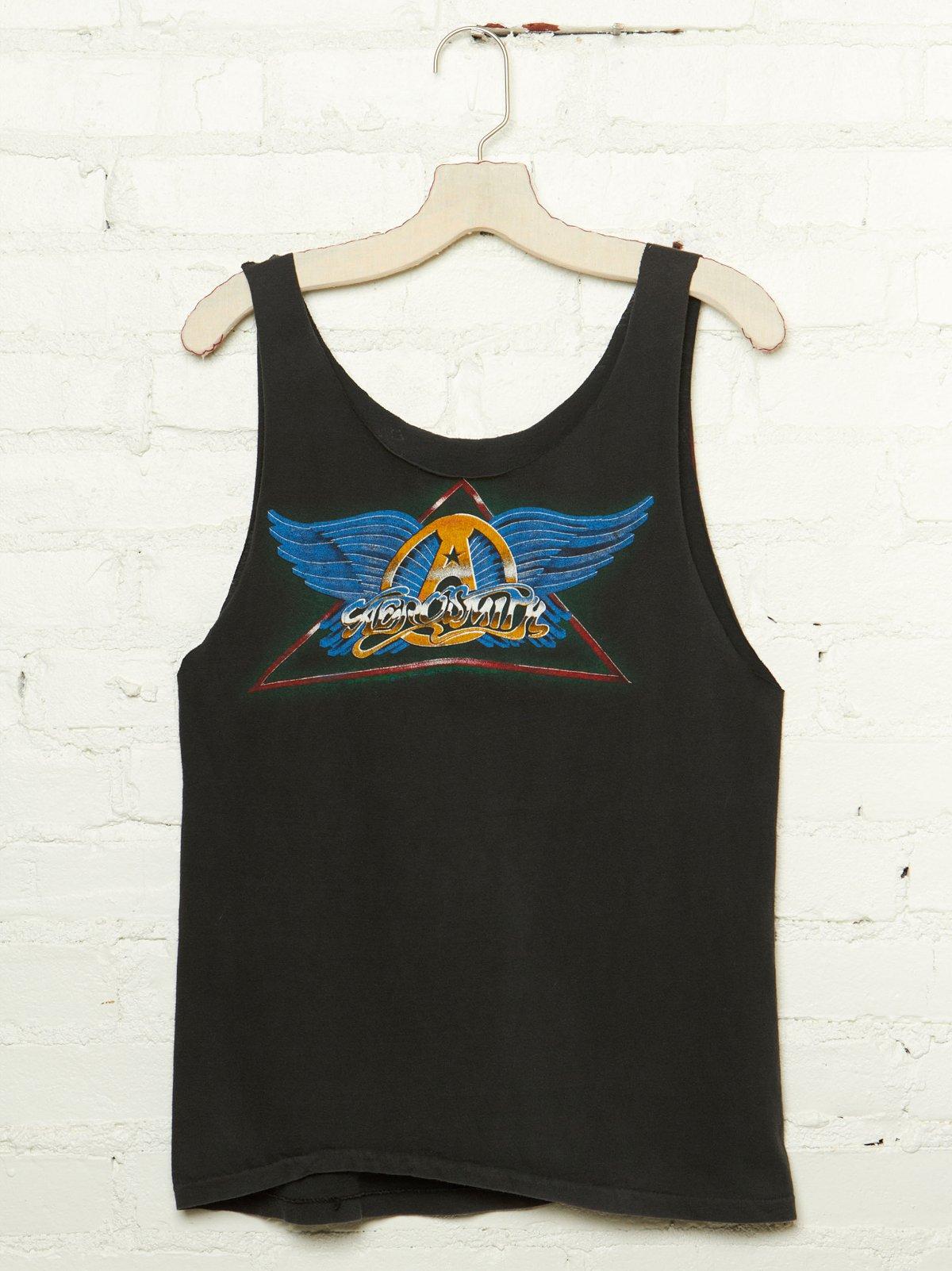 Vintage Aerosmith Graphic Tank