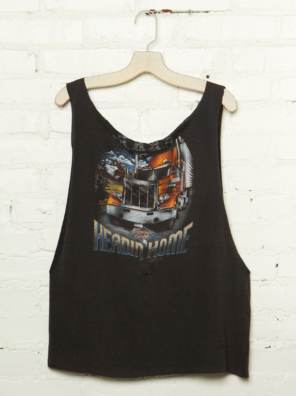 Vintage Heading Home Tank