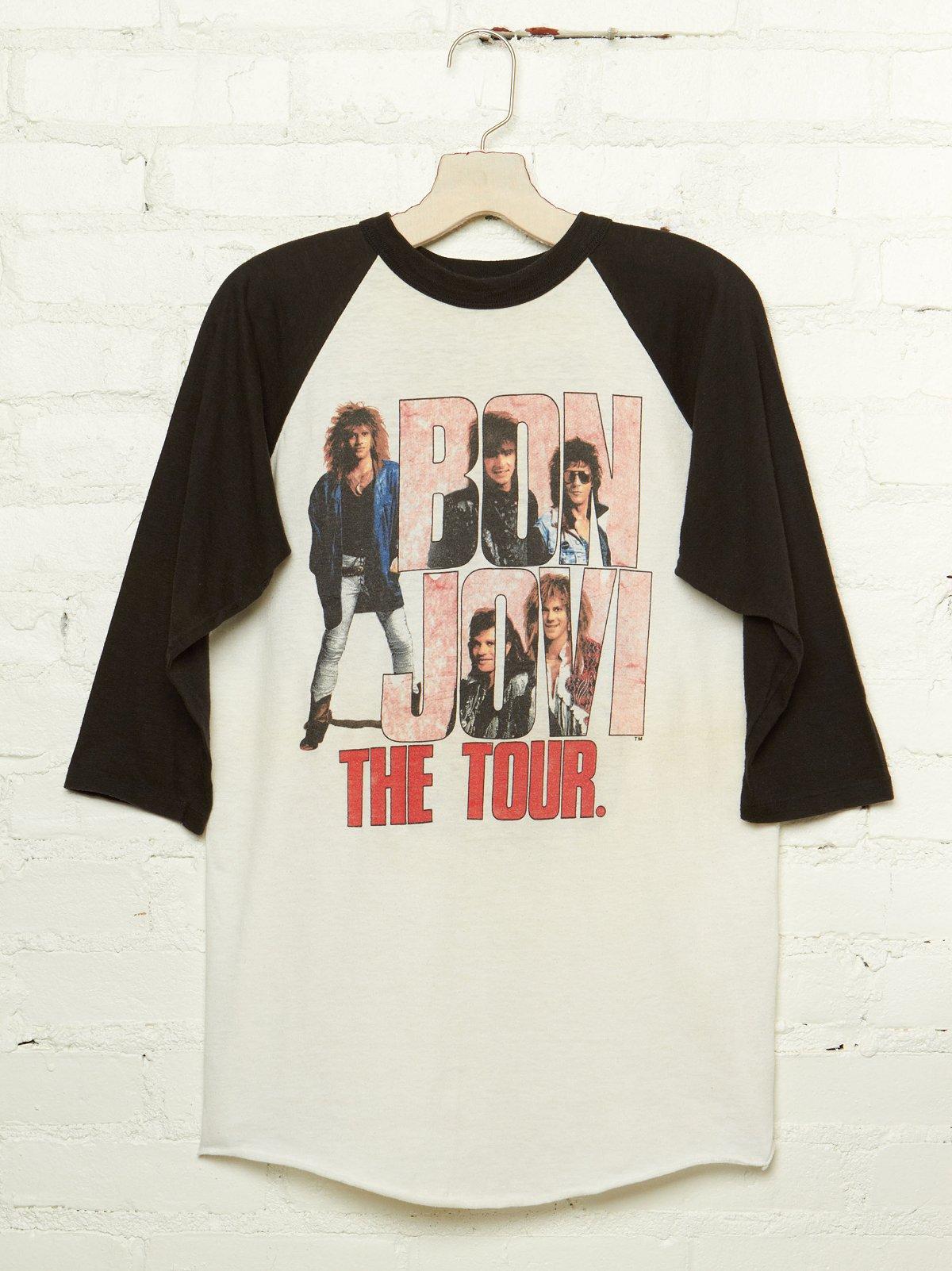 Vintage Bon Jovi Baseball Tour Tee
