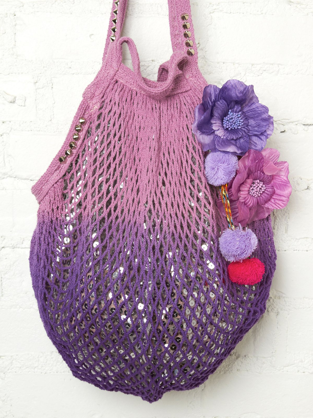 Shimmering Beach Bag at Free People Clothing Boutique