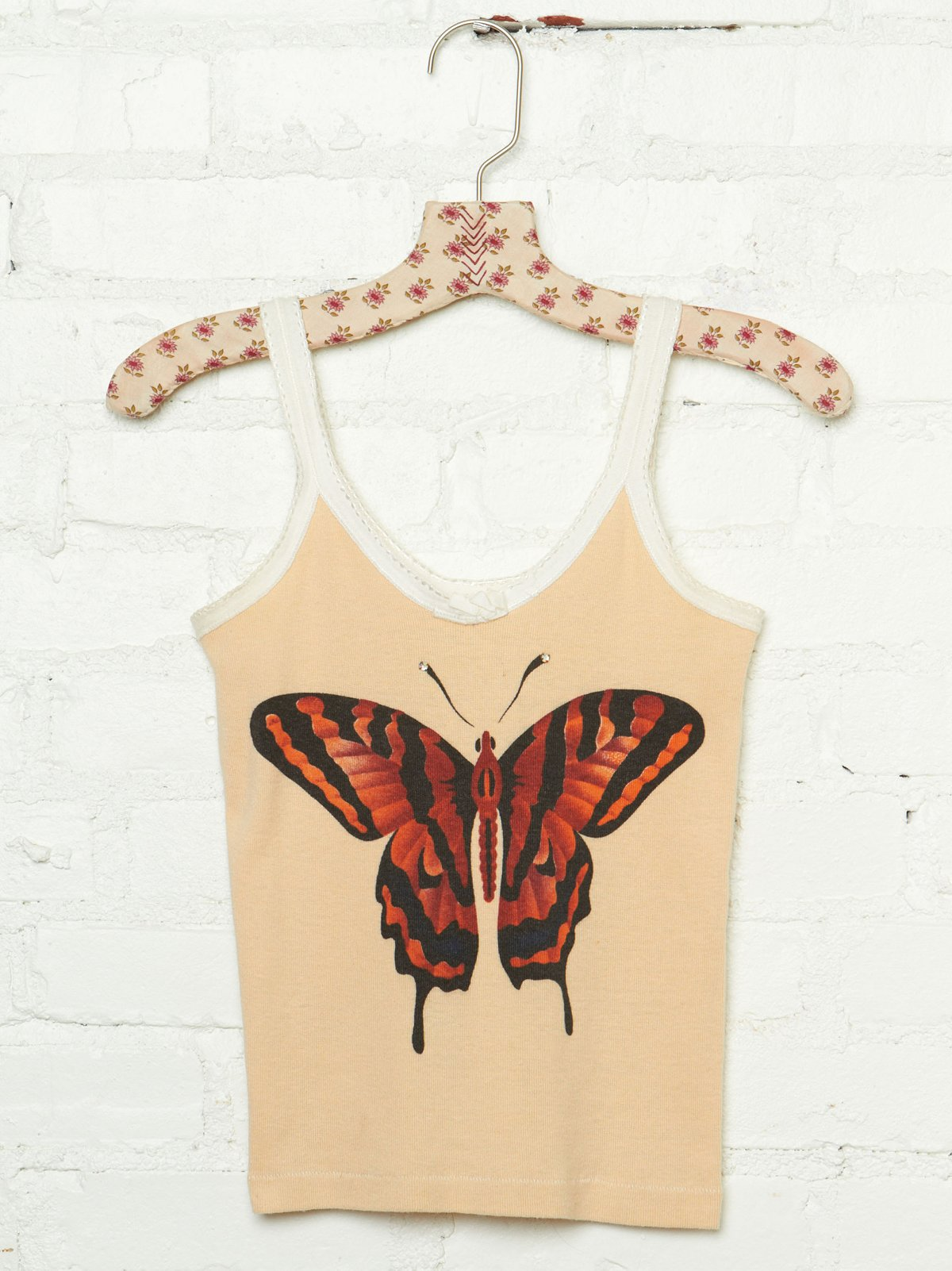 Vintage Butterfly Graphic Tank