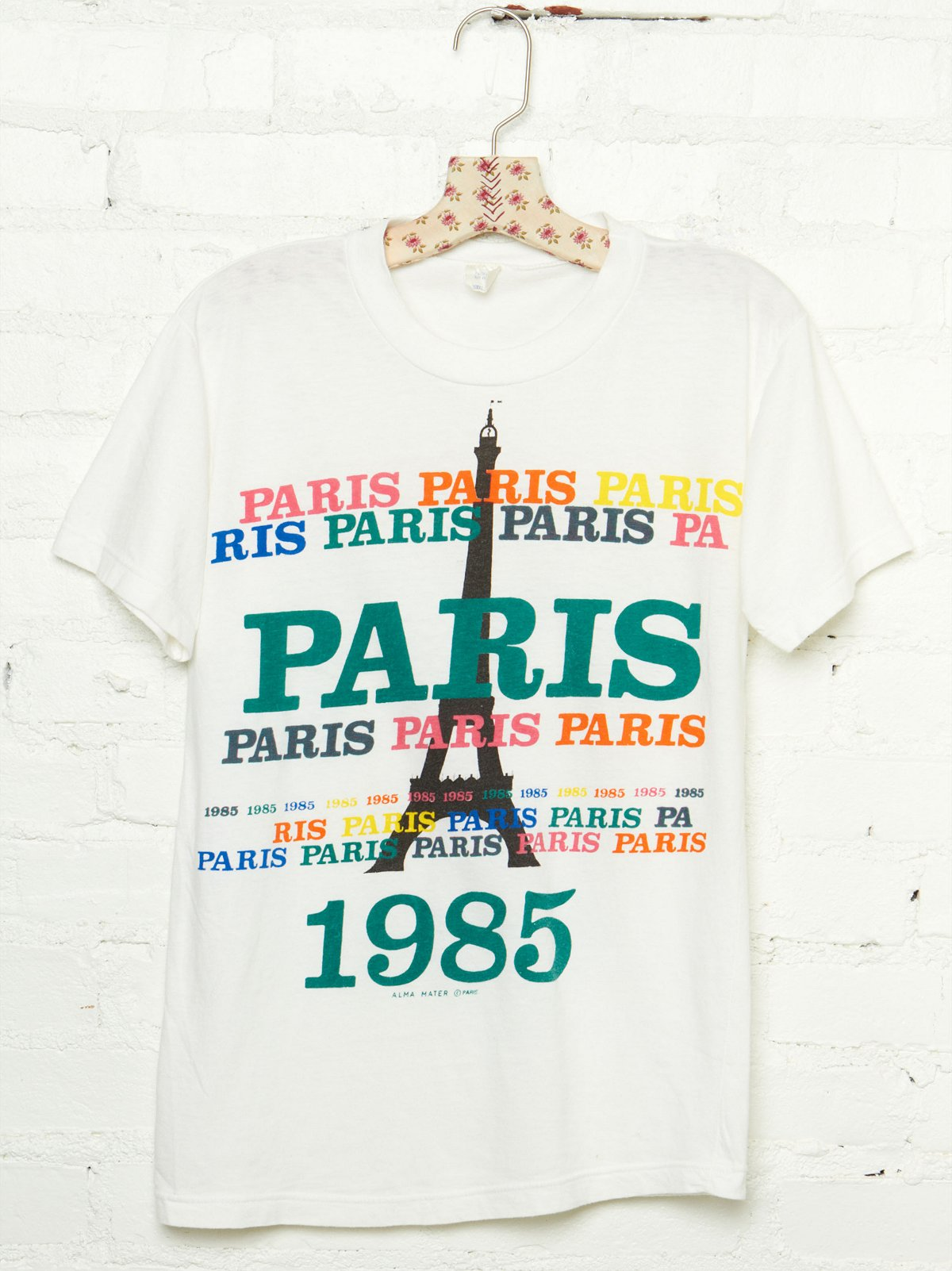 Vintage 1985 Paris Graphic Tee