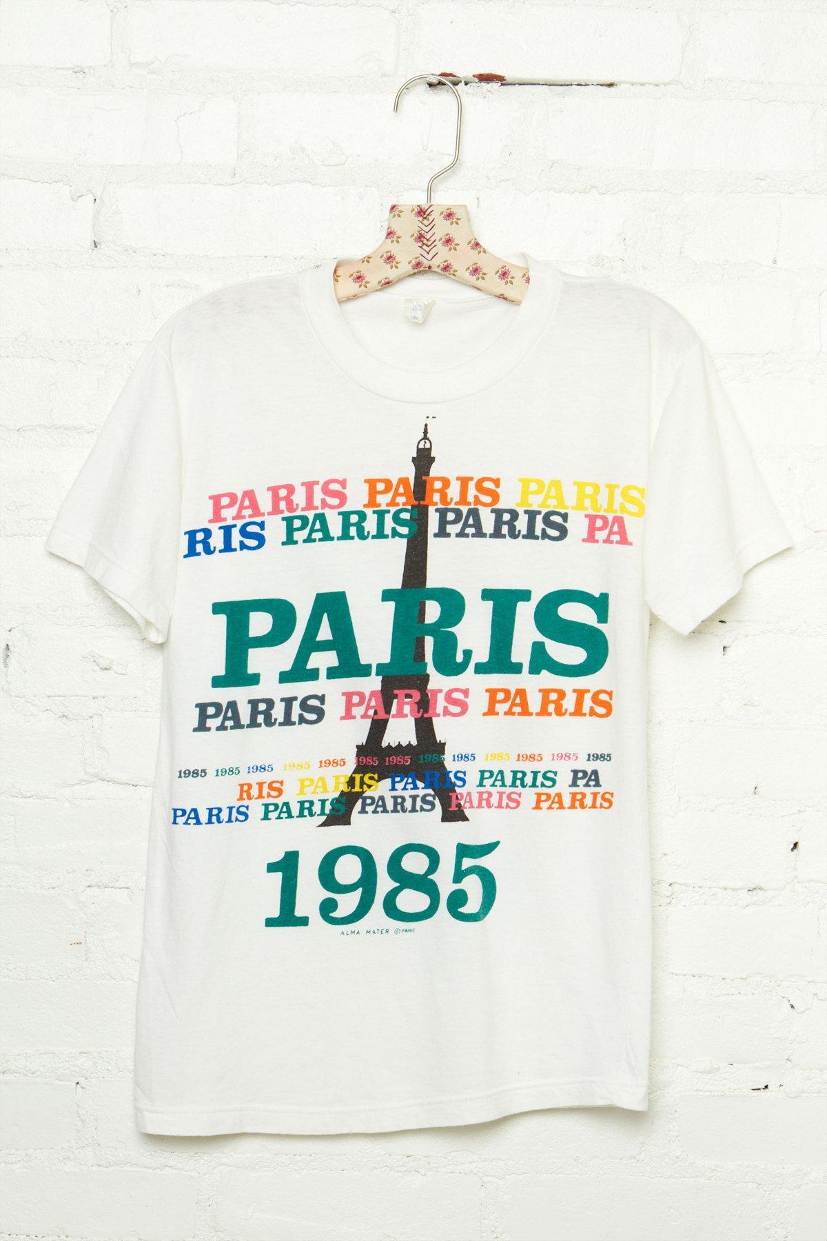 Vintage 1985 Paris Graphic Tee