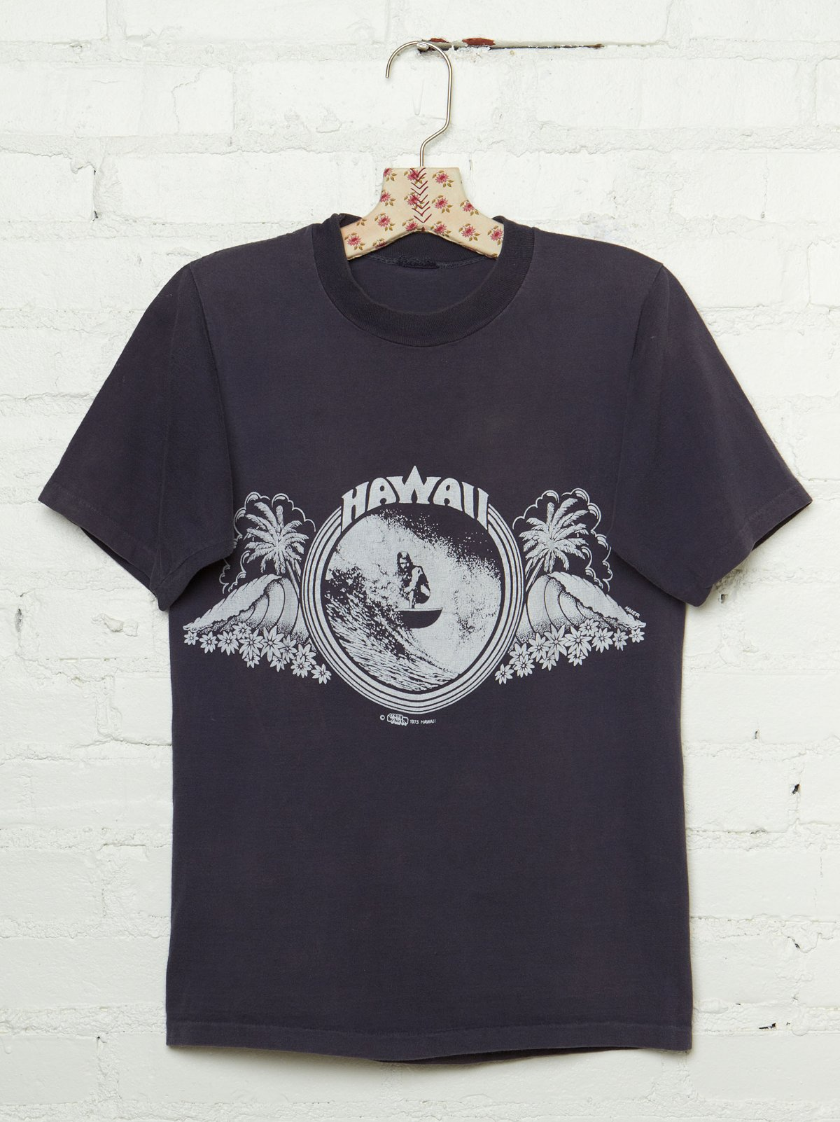 Vintage 1970s Hawaii Graphic Tee