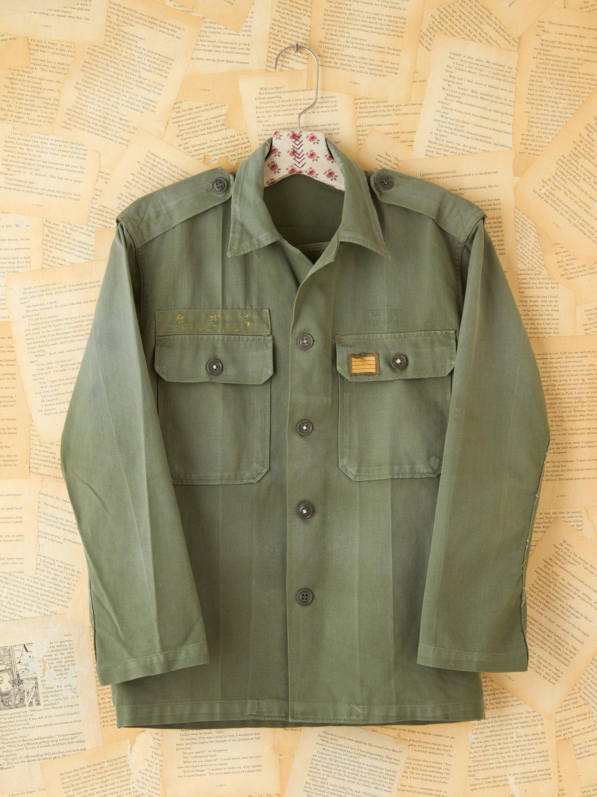 Vintage Military Cargo Jacket