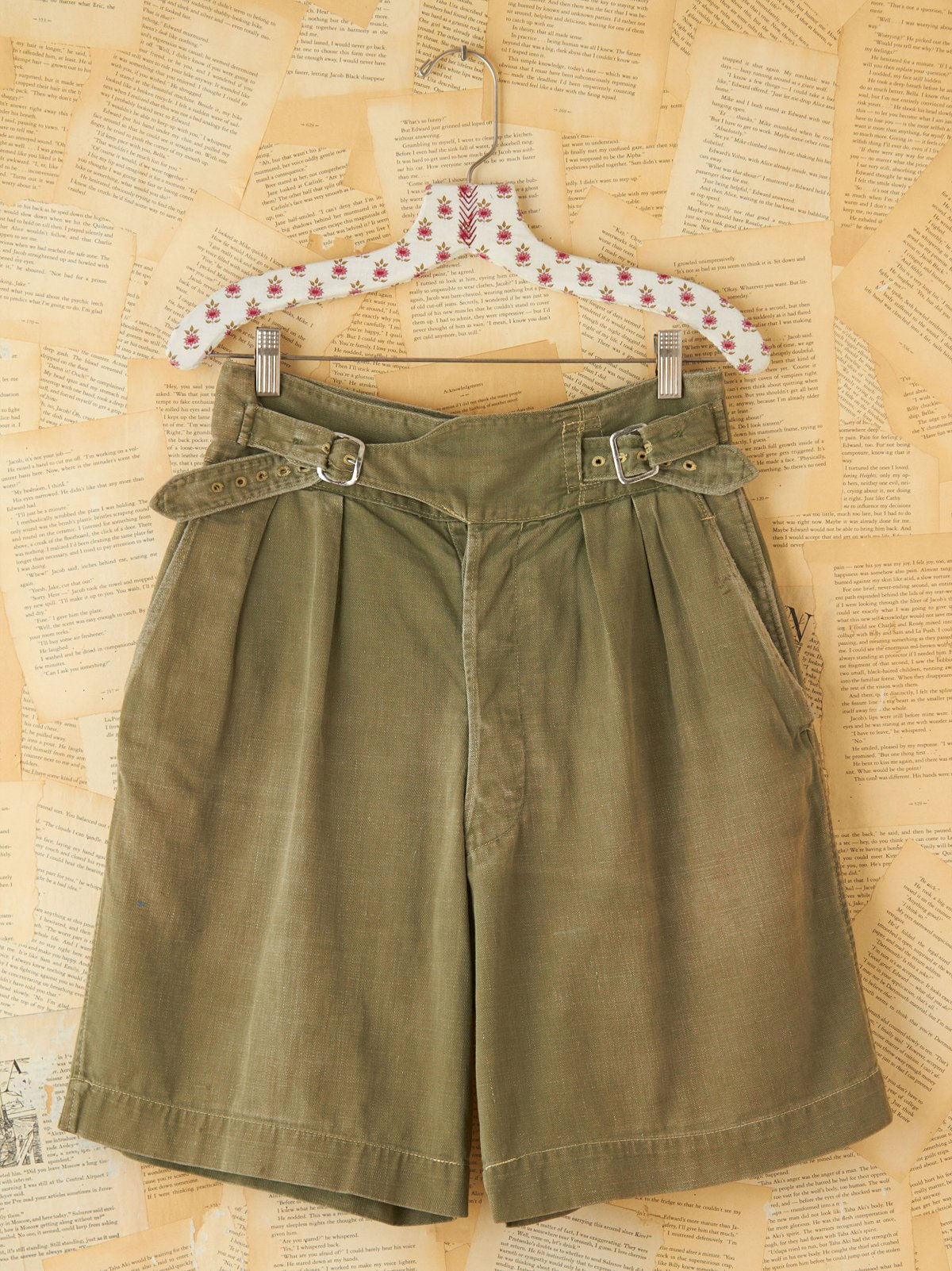 Vintage Military Cargo Shorts