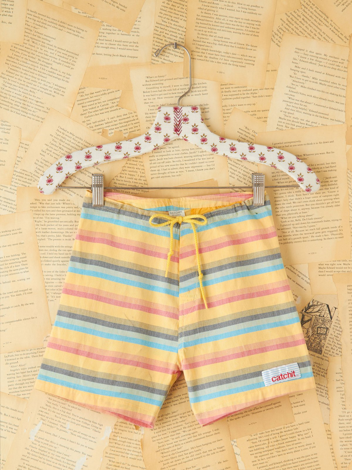 Vintage Catch It Stripe Shorts