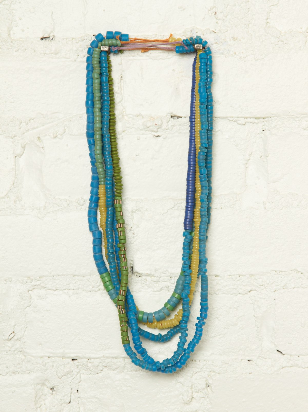 Vintage Beachy Bead Necklace