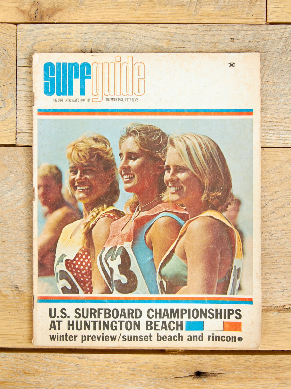 Vintage Surf Guide Magazine Dec. 1964
