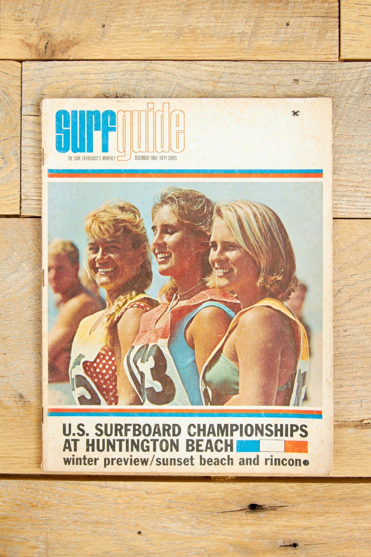 Vintage Surf Guide Magazine Dec. 1964