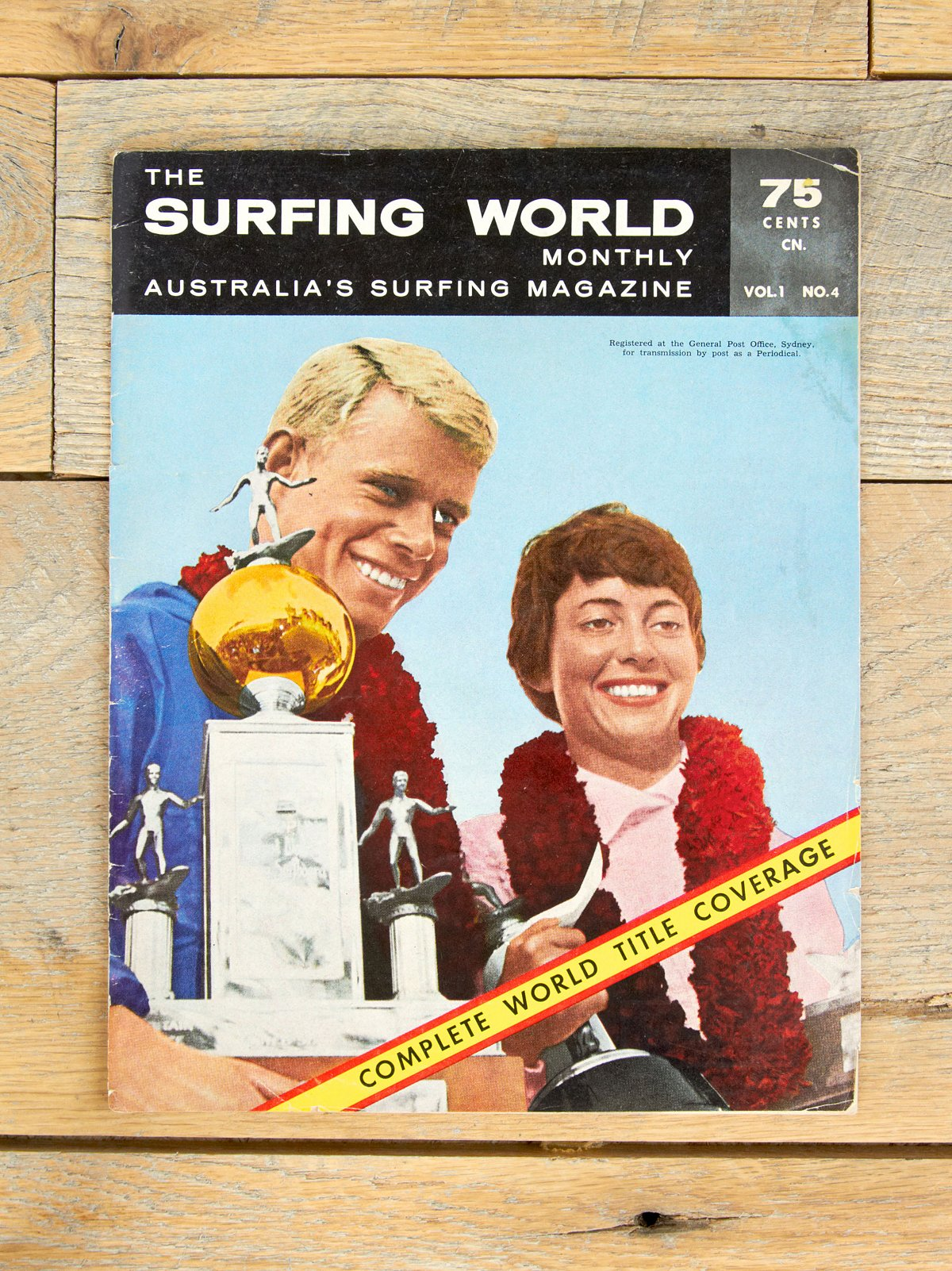 Vintage Surfing World Monthly Magazine Vol. 1 No. 4