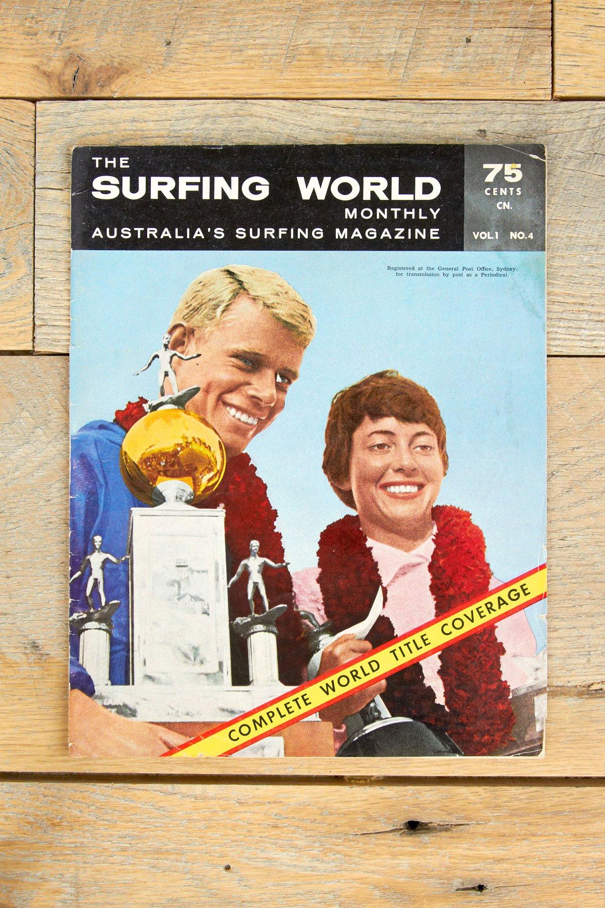 Vintage Surfing World Monthly Magazine Vol. 1 No. 4
